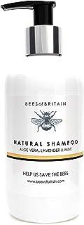 SHAMPOO NATURALE - LAVANDA & MENTA - 250 ml - di BEES of BRITAIN. Senza Solfati, Senza Parabeni, Senza Silicone. Diamo il ...