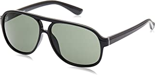نظارة شمسية للرجال من اسبريت - اسود - المقاسات 60-13-138 - ET19496-538