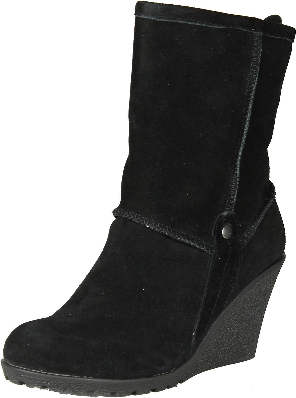 GCny Good Choice kvinnor Luxe mode Wedge stövlar stövlar stövlar  motverka äkta