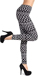 SATINA Super Soft Printed Leggings - 22 Styles - Brushed Patterned Fashion