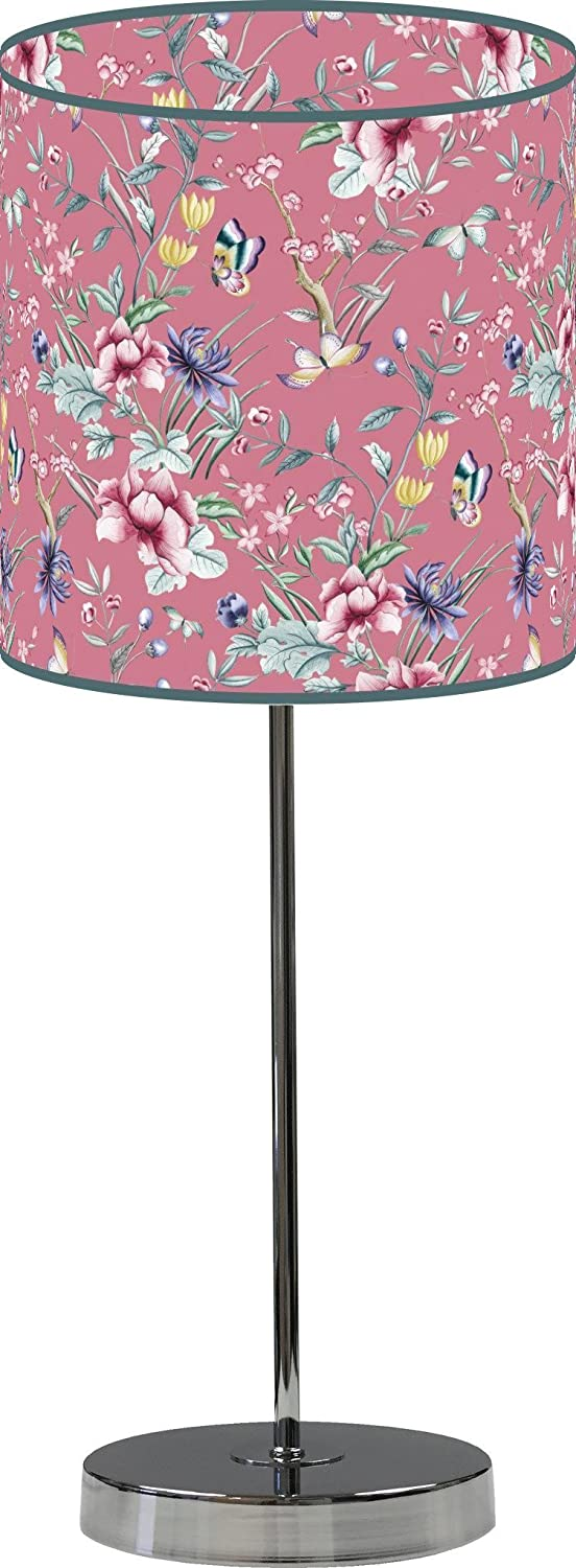 LampPix 10 Inch Table Desk Max 45% OFF Lamp Vintage Floral Wa NEW before selling Japanese Shade