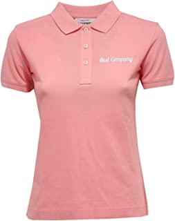 b4dab735c61ca1 BEST COMPANY 5310X Polo Donna Maglia Pink Polo t-Shirt Woman