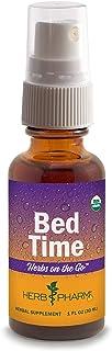 Herb Pharm Herbs on The Go Portable Spray: Bed Time, 1 Ounce