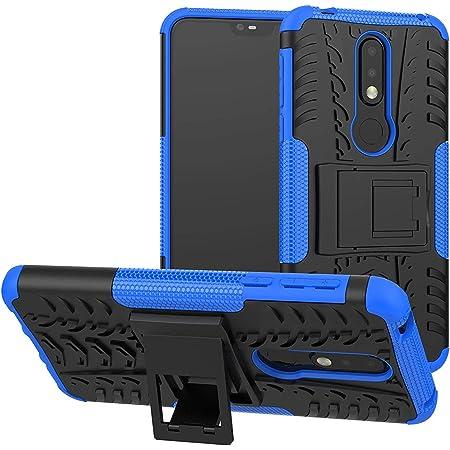 Soezit Poly Carbonate Back Cover for Nokia 7.1 - Blue