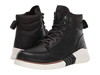 Timberland M.T.C.R. Moc Toe Boot (Black Full-Grain) Men