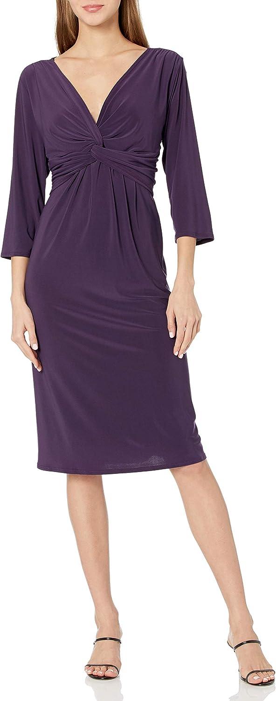 Star Vixen Women's Twist-Front Dress
