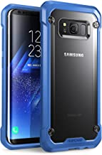 SupCase Samsung Galaxy S8+ Plus Case, Unicorn Beetle Series Premium Hybrid Protective Frost Clear Case for Samsung Galaxy S8+ Plus 2017 Release, Retail Package (Frost/Blue)