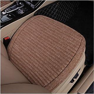 Sillas de coche Cojín for el asiento del automóvil Estera transpirable de lino universal Four Seasons Buena transpirabilidad y comodidad Adecuado for la mayoría de los modelos Respetuoso con el medio