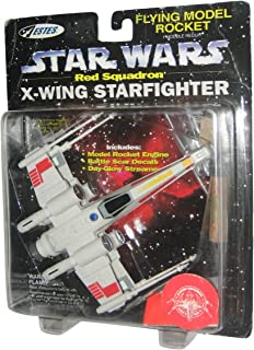 Star Wars Red Squadron X-Wing Starfighter Flying Model Rocket