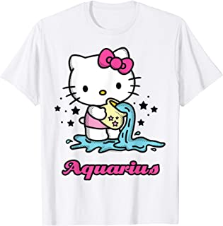 Hello Kitty Zodiac Aquarius Tee Shirt