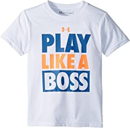 Under Armour Kids Play Like A Boss Short Sleeve Tee (Little Kids/Big Kids)