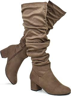 Premier Standard - Women Fashion Comfy Vegan Suede Block...