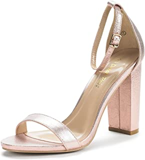 099e41a60e5e8 Amazon.com: Gold - Heeled Sandals / Sandals: Clothing, Shoes & Jewelry