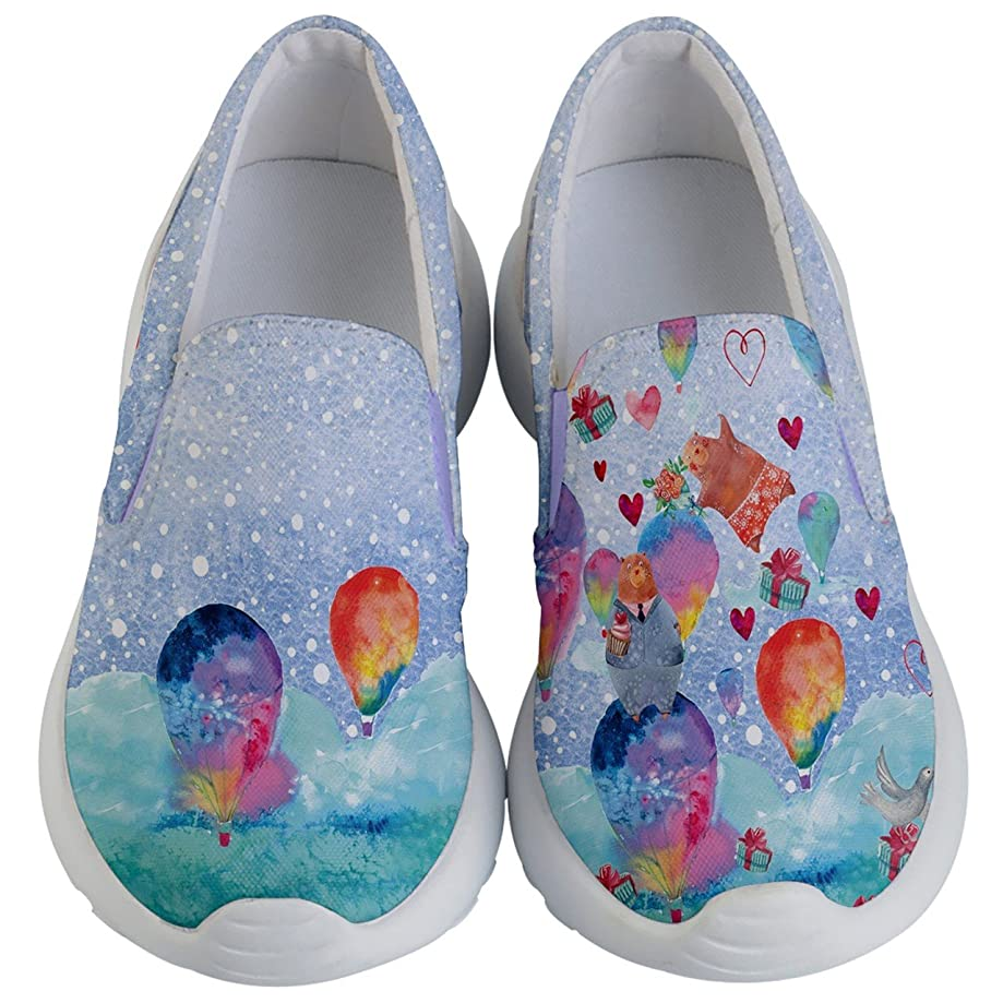 PattyCandy Kids & Toddlers Shoe Slip On Hearts & Love Pattern on Lightweight Casual Shoes