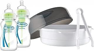 Dr Brown's Options Microwave Steriliser Wide Neck Bottles (270 ml, Pack of 2)