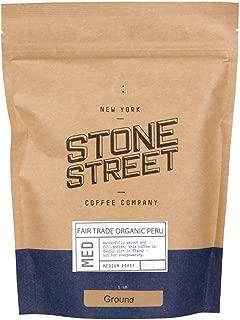 100% FAIR TRADE ORGANIC PERU Ground Coffee | 1 Lb Bag | Medium Full Body Roast | Single Origin Premium Peruvian Quality