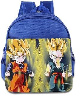 Dragon Ball Super Goten Trunks Kids School Backpack