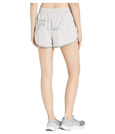 Fila Kati Shorts (Quiet Grey/Lead/Silver) Women