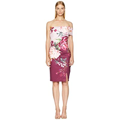 Ted Baker Irlina Serenity One Shoulder Dress (Lilac) Women