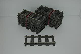 Kurve Eisenbahn Zug curved tracks Halbkreis 4520 Lego 9V 8 Schienen gebogen