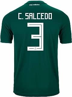 adidas C. SALCEDO #3 Mexico Home Soccer Stadium Men's Jersey World Cup Russia 2018