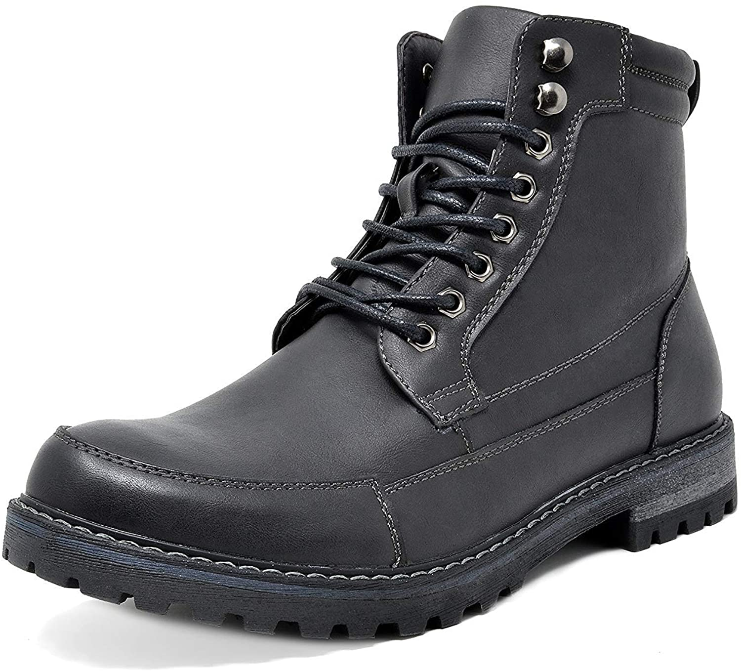 Free shipping New Bruno Marc Manufacturer regenerated product Men's Motorcycle Combat Oxford Lining Boot Fur Warm Z