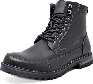 Bruno Marc Men's Motorcycle Combat Military Oxford Boots