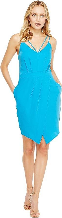 Noemi V-Neck Sheath Dress