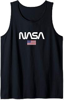 NASA Canotta da Uomo NASA Logo USA Canotta