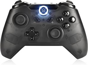 Wireless Pro Game Controller for Switch,Lasiti GP004 Bluetooth Gamepad Joypad Compatible with Nintendo Switch Console and PC360 Mode,Support Gyro Axis,Remote Joystick Dual Vibration