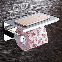 QAWSED Toilet Roll Houder Handdoekenrek, Handdoekenrekken Voor Badkamer Toiletrolhouder Badkamer Toiletpapierhouder Roestv...