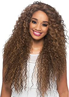Vivica A Fox Hair Collection Sobe Swiss Front Lace Full Lace Front Wig, FS1B/30, 12.8 Ounce