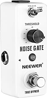 Neewer Aluminium-alloy Noise Killer Guitar Noise Gate Suppressor Effect Pedal with 2 Working Models and LED Indicator (Ori...