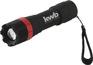 kwb LED zaklamp Tactical Zoom 948190 (superhelder, via een draairing verstelbare focusfunctie, polsband)
