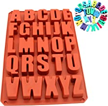 Big size 34.5x23.5x2.5cm A-Z Letter Silicone Cake Mold Cake Decorating Tool Confeitaria Maker Biscuit Resin mold Bakeware ...