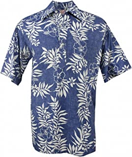 INTERESTPRINT Mens Short Sleeve Hoodies Pullover Chicken Flowers Blue Pink Casual Drawstring Shirts XS-2XL