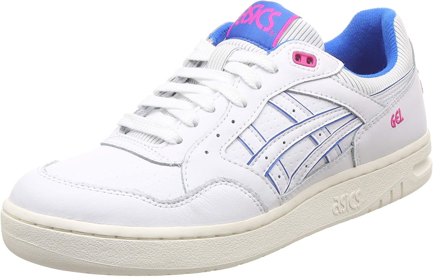 ASICS shoes Mens Sporty Genuine Leather Sneaker Gel Circuit White