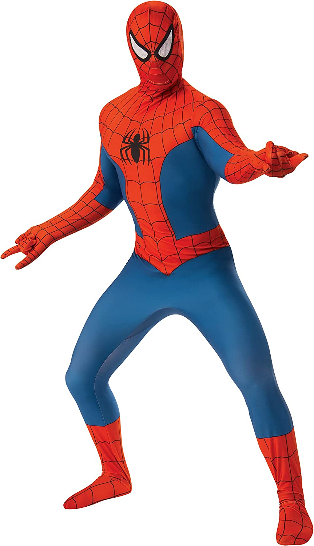 Rubies Alternative dealer Men's Marvel Spider-Man Over item handling ☆ 2nd Skin Costume