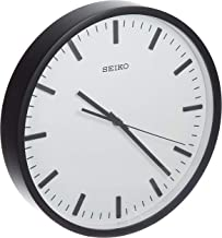 QXA657KL SEIKO Black Wall Clock Diameter 30.5 cm