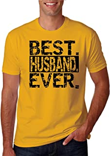 ZoDong Best Husband Ever Father's Day Year Round Funny T-Shirt Gold