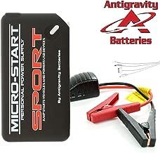 Anti-Gravity MICRO START Series XP1 XP3 XP10 XP10HD Lithium Portable Car, ATV, Motorcycle, Watercraft Jump Starter, Power Bank and Flashlight (XP-SPORT)