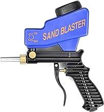 Ashley GAO Draagbare Zwaartekracht Zandstralen Gun Pneumatische Zandstralen Set Roest stralen Apparaat Kleine Zand Stralen...