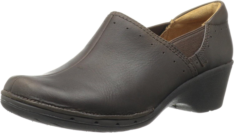 Unstructurot By Clarks Un.Lory Damen Braun Pantoletten Schuhe EU 37