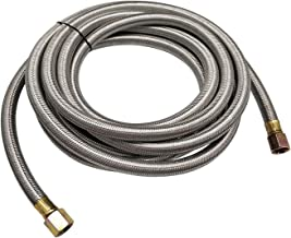 MENSI 16 Feet Stainless Steel Braided BBQ Grill Extension Propane Hose 3/8