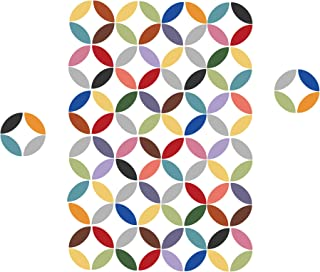 WallPops WPK1729 Wall Art Kit-Pinwheel, Multi-Colour