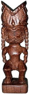 Carved Tiki Statue - Hawaiian God Ku