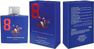 Beverly Hills Polo Club Eau De Toilette Sport 8 for Men, 100ml