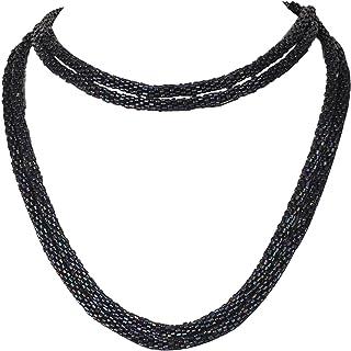 DCA Glass Women Necklace Black