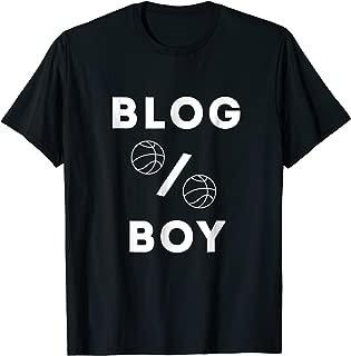 blog boy t shirt