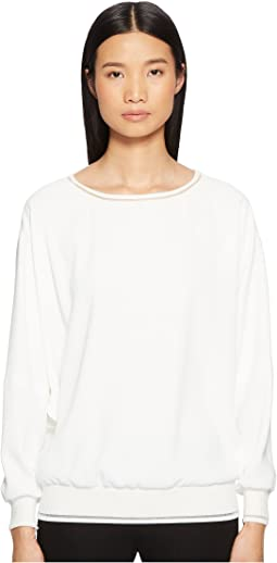 Nailar Long Sleeve Scoop Neck Top